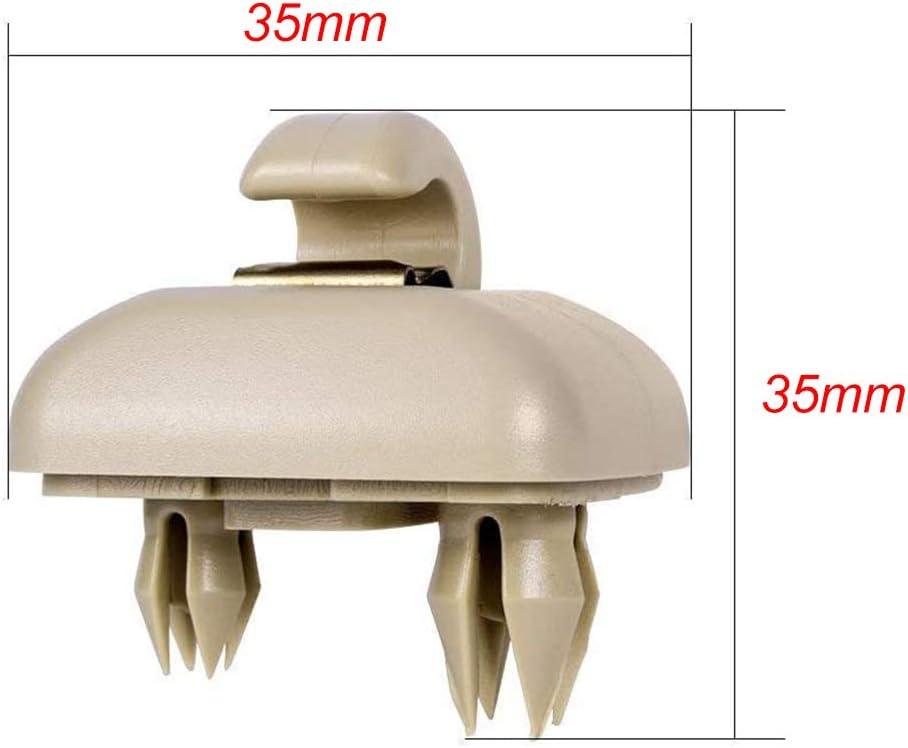 Irfora Reemplazo de la suspensi/ón del Soporte del Gancho del Clip del Parasol autom/ático para A1 A3 A4 A5 Q3 Q5 A7 B6 B7 B8 S4 S5 8E0 857562 Gris