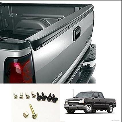 For 1999-2006 Silverado Sierra Tailgate Spoiler Cap Molding Top Protector  New
