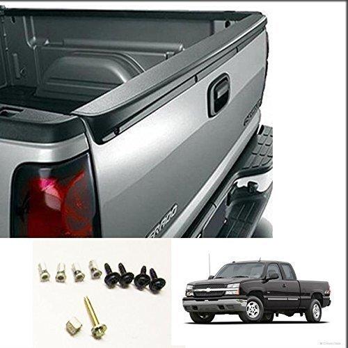(Chevy Silverado GMC Sierra Tailgate Spoiler Protector 99 00 01 02 03 04 05 06 (LY4006))