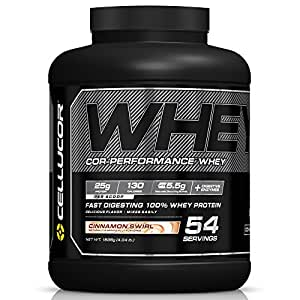 Cellucor Cor-Performance Whey Protein, G4v1, Cinnamon Swirl, 54 Servings