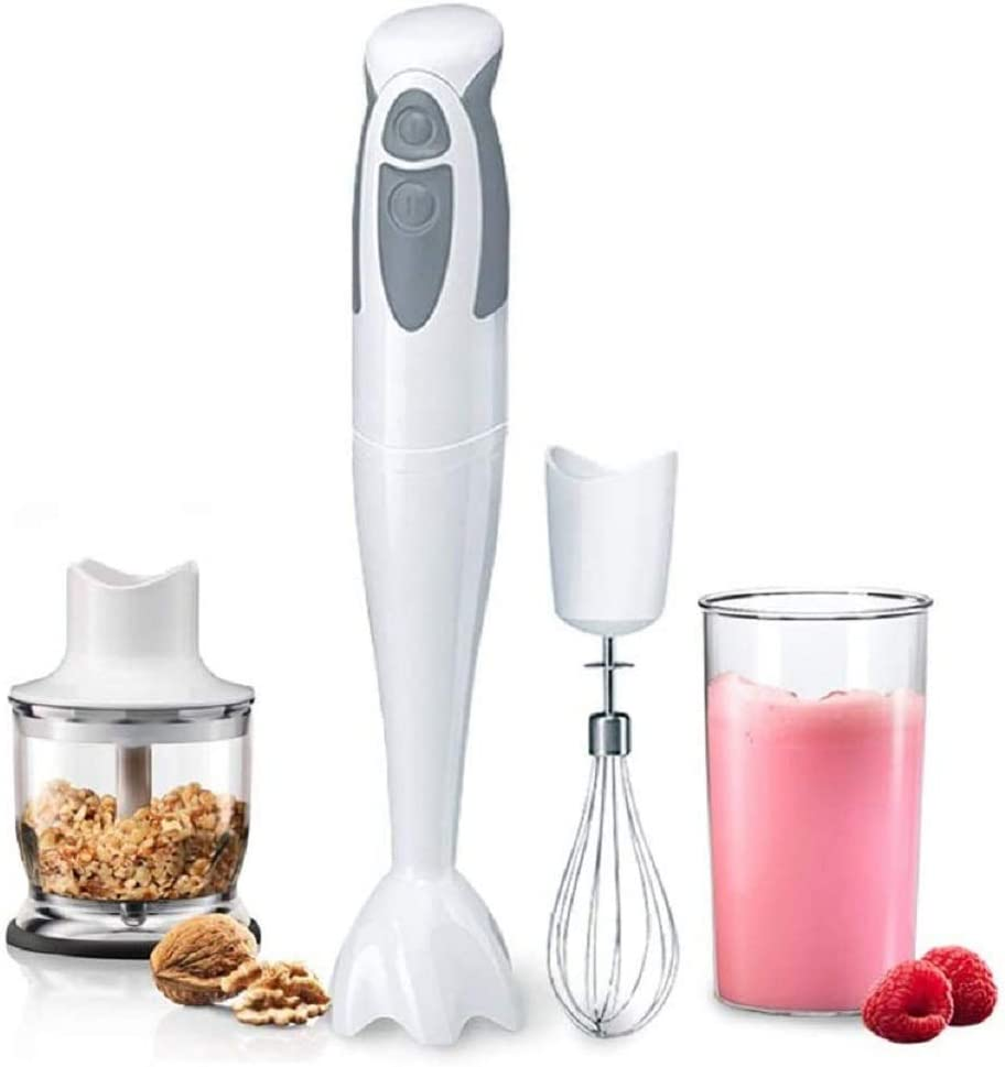 Z-COLOR 3 in 1 Hand Blender Cooking Stick, Small Household Handheld Electric Blender with 600ML Mixing Cup