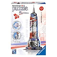 Ravensburger Empire State Building-Flag Edition-3D Puzzle (216-Piece)