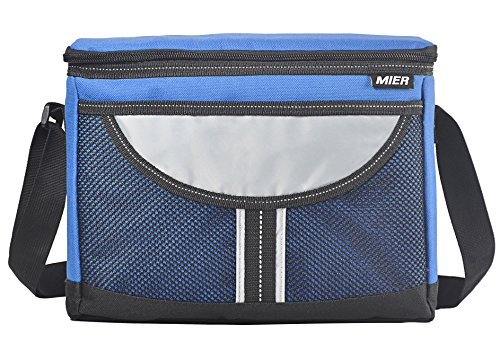 MIER Insulated lunch Box Bag Adult Men and Women Soft Cooler Bag with...