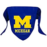 Hunter Mfg. LLP NCAA Michigan Wolverines Pet Bandana, Team Color, Large