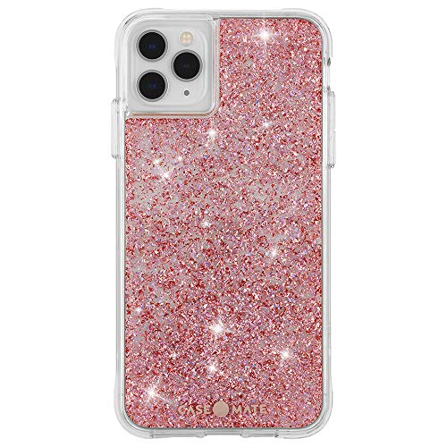 Case-Mate - iPhone 11 Pro Case - Twinkle - Reflective Foil Elements - 5.8 - Twinkle Rose