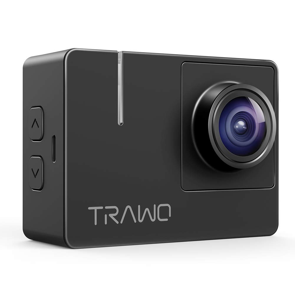 APEMAN Native 4K Action Camera TRAWO with 4K EIS, 20MP Sharp Images, 2'' IPS Screen, WiFi, Longer Battery Life by APEMAN