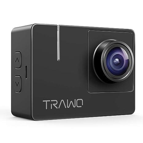 Amazon.com: APEMAN Trawo Cámara de Acción 4K WiFi Ultra HD ...
