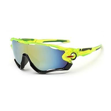 Gafas de sol UV400 de Kry, para hombre, con marco de metal irrompible, ideales para hacer deporte, salir a pescar o conducir