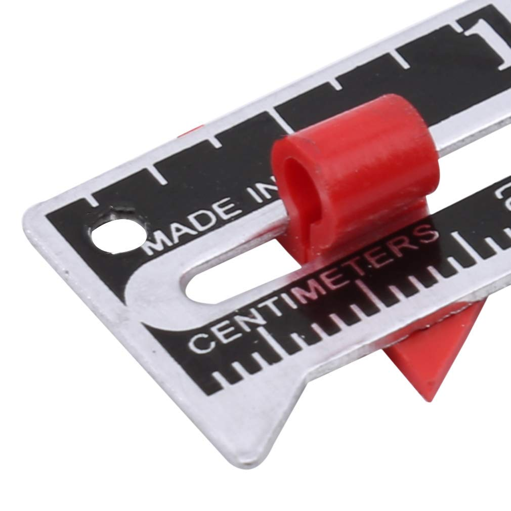 Seams Ruler Sewing Gauge for Measuring Hemming Quilting Crafting Ruler Seams Essential Cutting Tools DIY Crafting Sewing Tool Useful and Practical