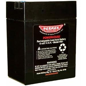 Amazon Com Parmak 901 6 Volt Gel Cell Battery For Solar