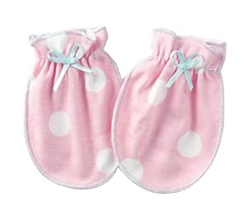 Amazon.com: [V] 3 Pairs Newborn Baby Mittens Infant No Scratch ...