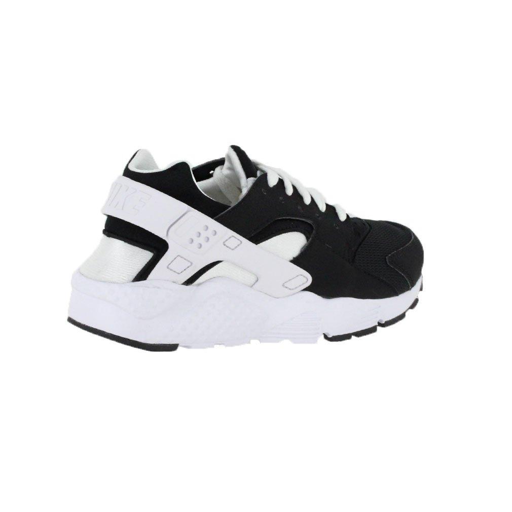 nike Huarache Run/Boys Shoes Black//White size 4 M US Big Kid