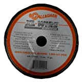 Gallagher AXL171320 1/4-Mile Aluminum Wire Fence, 17-Gauge