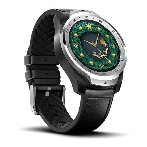 Ticwatch Pro Smartwatch Bluetooth-512MB RAM, Mehrschichtiges Display, Herzfrequenz und NFC-Zahlungen basierend auf…