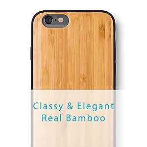 iPhone 6S PLUS/iPhone PLUS 6 Case. iATO Real WOODEN Premium Protective Cover. Unique, Stylish & Classy BAMBOO WOOD Bumper Accessory for Apple iPhone 6S PLUS/6 PLUS