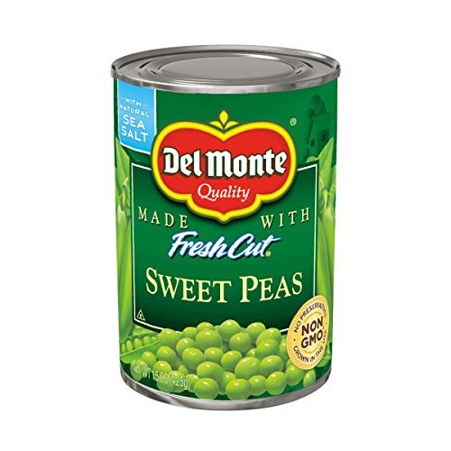 (Del Monte Canned Sweet Peas, 15-Ounce (Pack of)