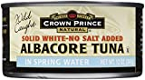 Crown Prince Albacore Tuna, In Water, No Salt, 12 oz