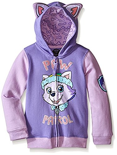Paw Patrol Little Girls' Everest Toddler Hoodie, Lilac/Purple, 4T by Nickelodeon