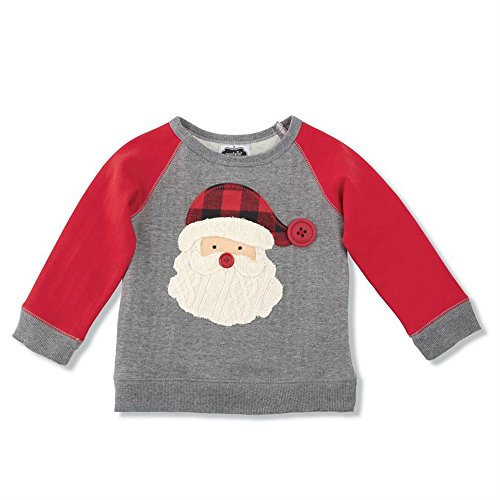 Mud Pie Holiday Santa Sweatshirt
