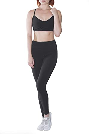 52047032fc In Touch Cotton Spandex Leggings: Tights for Women, Running, Dance, Yoga,