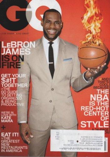 Read Online GQ Magazine (March, 2014) Lebron James Cover pdf