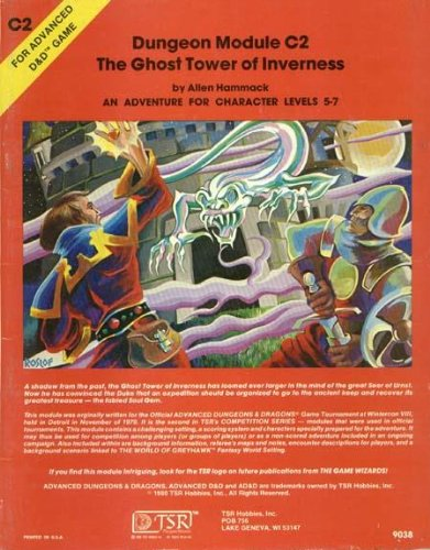 The Ghost Tower of Inverness (Advanced Dungeons & Dragons module C2)