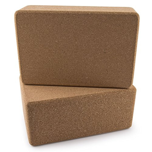 Peace Yoga%C2%AE Cork Yoga Blocks product image