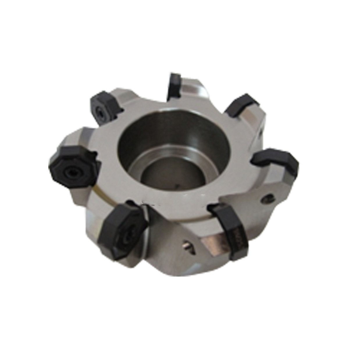 HHIP 2068-4001 4'' x 1-1/2'' Bore 45 Degree Octagon 7 Insert Index able Face Mill, 2-1/2'' OAL