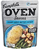 Campbell's, Oven Sauces, Creamy Garlic Butter Chicken, 12oz Pouch (Pack of 5)