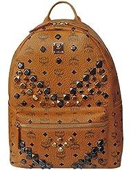 MCM Unisex Stark M Stud Medium Backpack