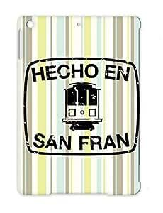 San Francisco Cities Countries Distressed Hecho SF California Black For Ipad Air Hecho En San Francisco T Shirt Case Cover