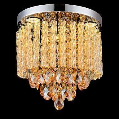 El lujo moderno modernas lámparas de techo de cristal para ...