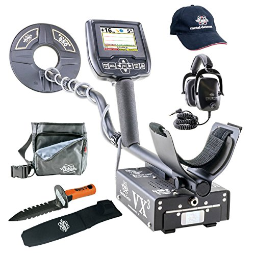Whites Spectra VX3 Metal Detector GEARED UP Bundle by Spectra VX3
