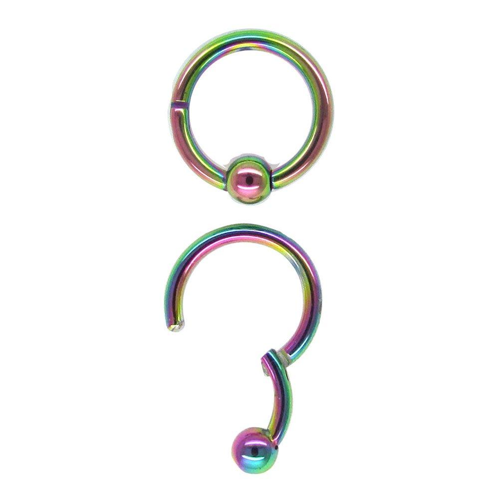 16g 10mm Rainbow