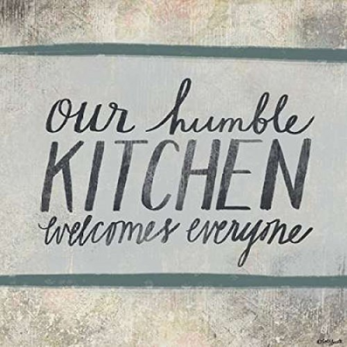 24 x 24 Humble Kitchen Poster Print by Katie Doucette
