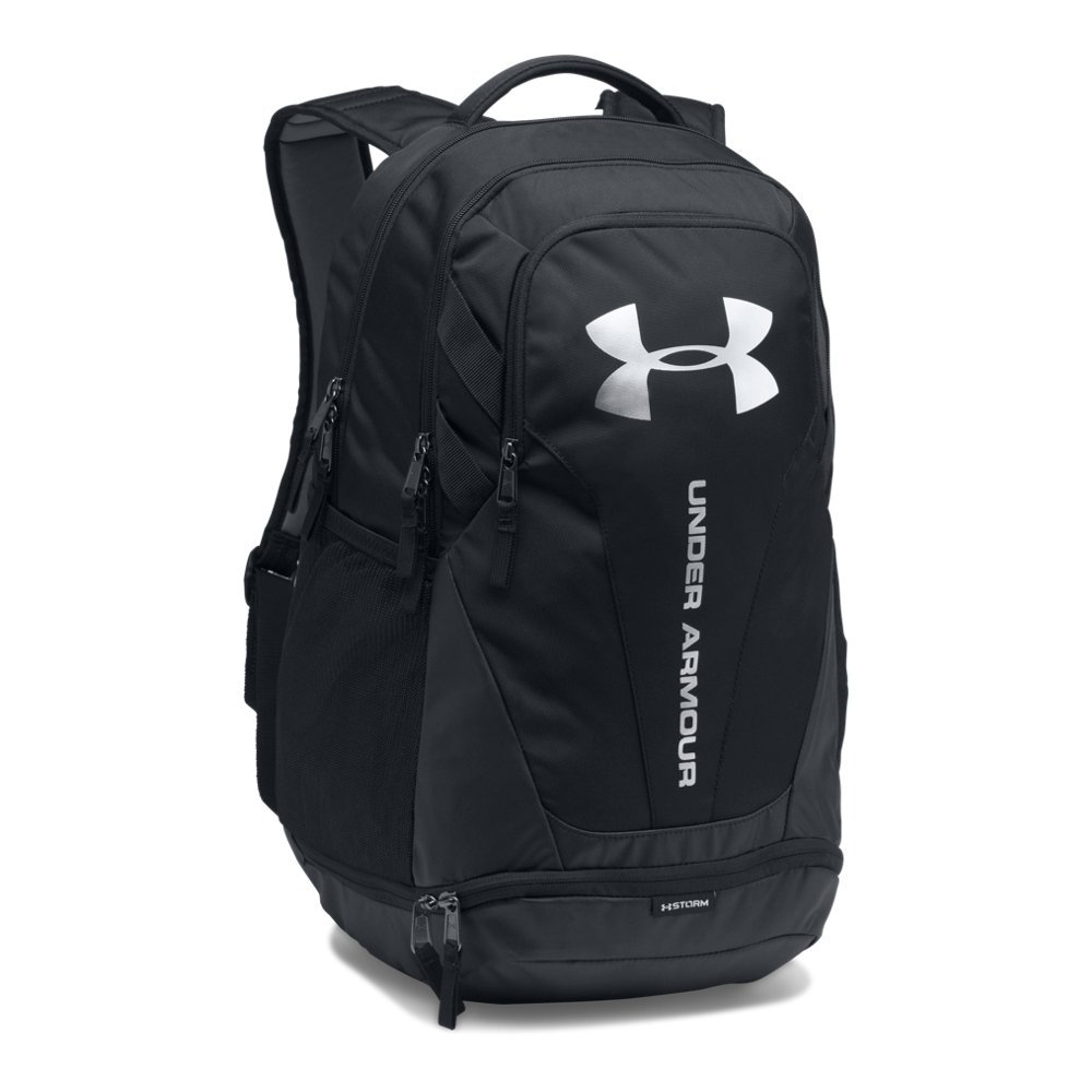Under Armour Hustle 3.0 backpack, Black (001)/Silver, One Size