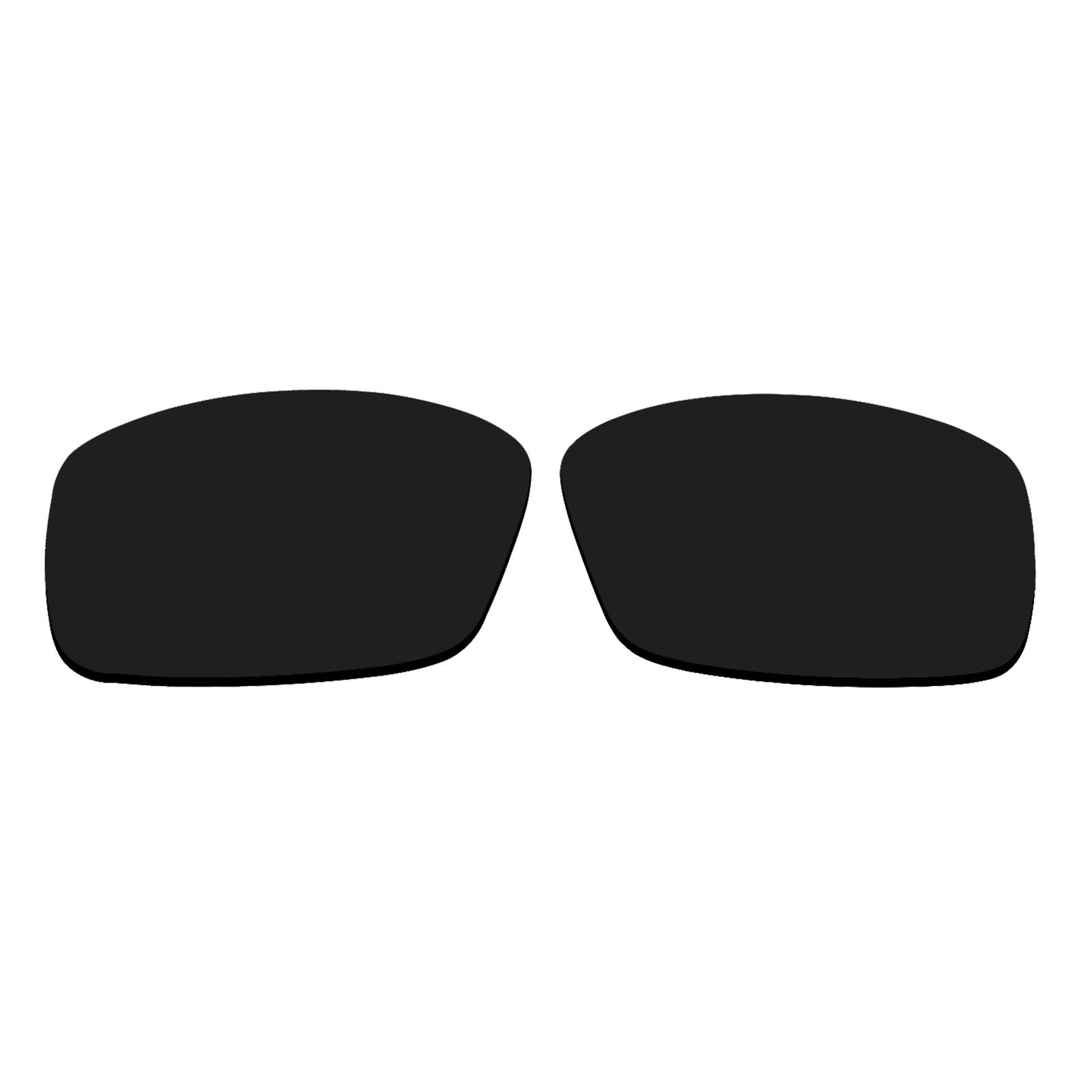 Polarized Replacement Sunglasses Lenses for Spy Optics Admiral (Black) by oGeee