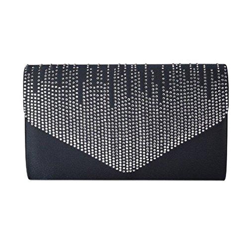 Diamante Envelope Purse Evening Messenger Navy Bag Flap Over Handbag Wallet Clutch qH7TrqwE