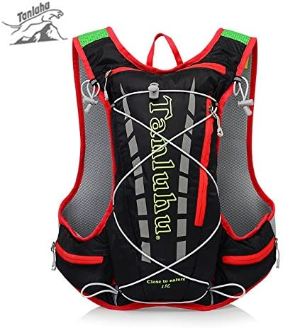 TANLUHU X-CAT Lightweight Running Hydration Vest Backpack 15L Outdoor Running Cycling Hiking Climbing