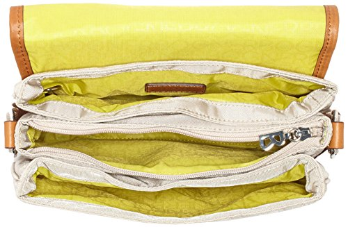 Bogner Eve, Borsa a Tracolla Donna Beige (Shell 405)