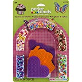 Tools & Hardware : Perler Beads Cupcakes and Butterflies Fused Bead Kit (Limited Edition)
