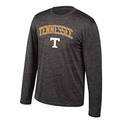 Volunteers Sleeve Tennessee Long (Top of the World NCAA Men's Tennessee Volunteers Poly Space Dye Invader Long Sleeve Tee Black Large)
