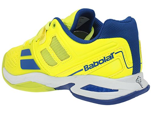 Babolat Junior Propulse Todo Terreno Zapatillas Deportivas Tipo Tenis - Amarillo/Azul amarillo/azul