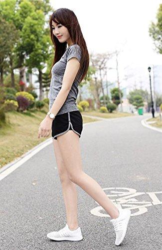 Sciarpe Inferiore 1 Sandali Nere Traspirante Mzg Respirabili Femminili Di Donna Miaozaigou Da Scarpe Spessore zBxpqUAw