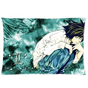 Death Note Custom Zippered Pillow Cases 16x24 (Two sides)