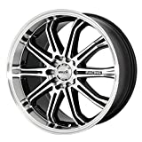 2005 acura tl rims - Maxxim Ferris Black Wheel with Machined Face (16x7