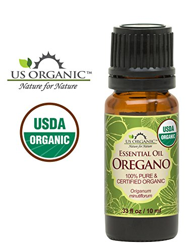 US Organic 100% Pure Oregano Essential Oil - USDA Certified Organic, Steam...