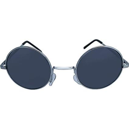 Amazon.com: Chic-Net Gafas de sol Unisex Redondo hippie ...