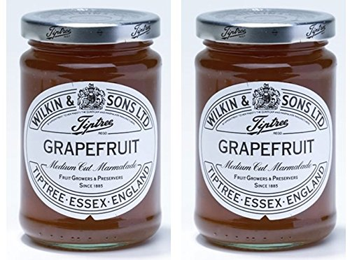 Grapefruit Spread - (2 Pack) - Tiptree - Grapefruit Marmalade | 340g | 2 PACK BUNDLE