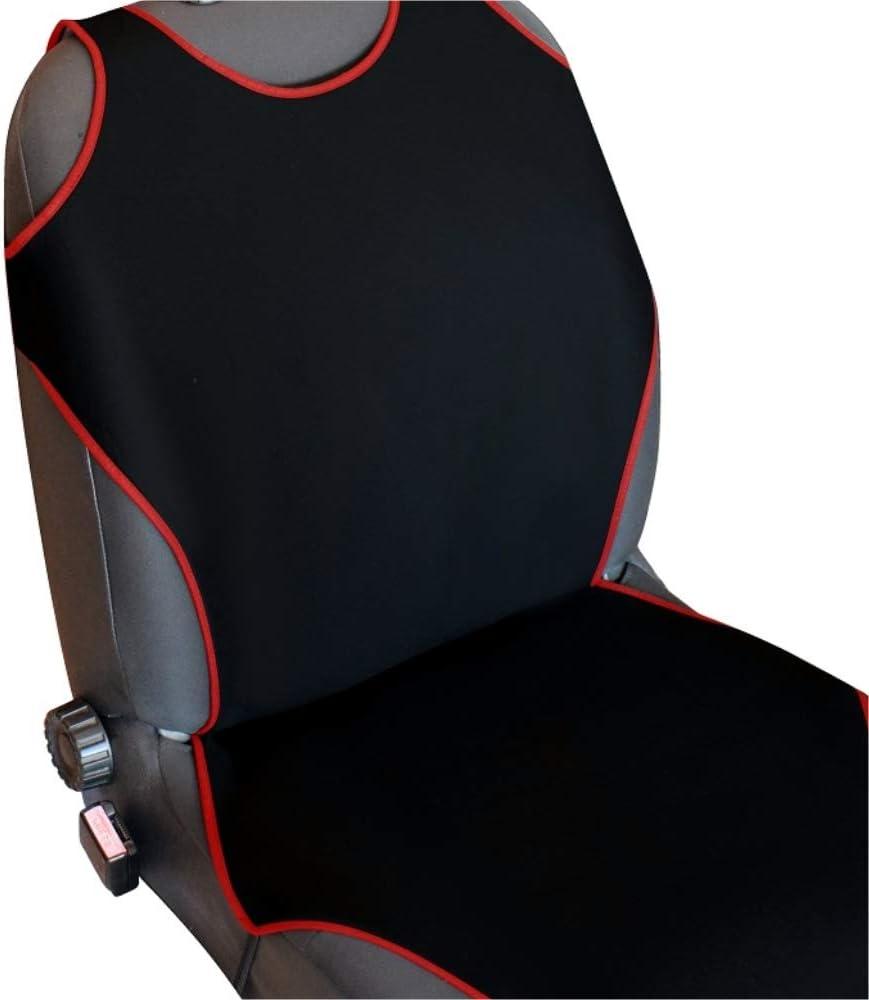 Akhan Csc405 1 Paar 2 Stück Sitzbezug Sitzauflage Sitzschoner Schwarz Auto